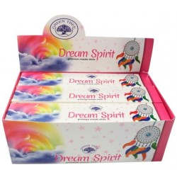 ENCENS GREEN TREE DREAM SPIRIT 15 GR - LOT DE 12