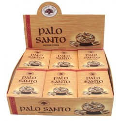 ENCENS GREEN TREE PALO SANTO CONES 15 GR - LOT DE 12