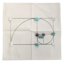 Tapis de Géométrie Sacrée - Spirale d'Or