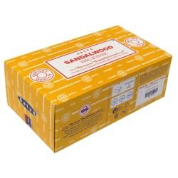 Encens Nag Champa Satya - Sandalwood - 15 grs - Lot de 12