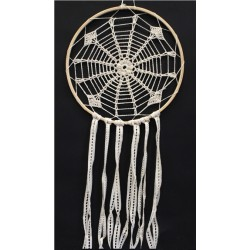 DREAMCATCHER CROCHET ET DENTELLE INGRAM BEIGE - 30 CM