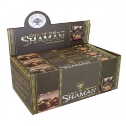 ENCENS GREEN TREE CALL OF THE CHAMAN 15 GR - LOT DE 12