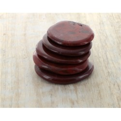 Smooth Stone Jaspe Rouge - lot de 5