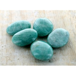 PIERRES AMULETTES AMAZONITE - LOT DE 5