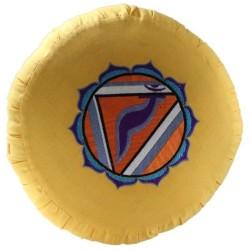Housse zafu - Chakra Manipura
