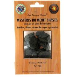Encens rares : Mystères du Mont Shasta - celui qui vit selon la loi divine - Spiritualité - 25 gr.