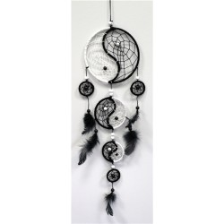 Dreamcatcher Pierres Naturelles Yin Yang