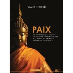 Paix - Comment trouver le bonheur par des gestes empreints d'amour... Livre audio CD MP3