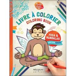 Livre à colorier Yoga & Mandalas