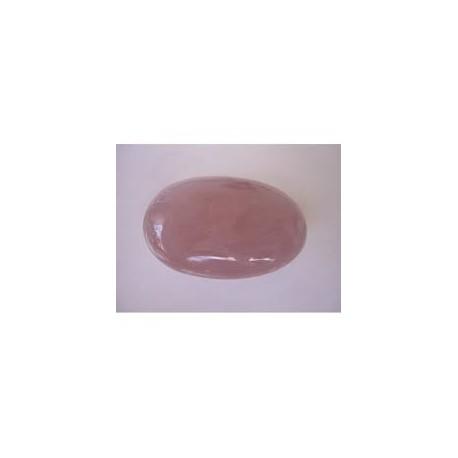 Galet Quartz Rose 3,5 x 4 cm - La pièce
