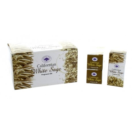 Huile de Parfum Green Tree White Sage - Lot de 12