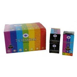 Huile de Parfum Green Tree 7 Chakras - Lot de 12