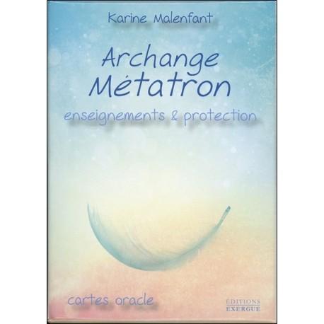 Archange Métatron - Enseignements & protection - Cartes Oracle