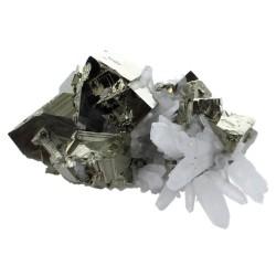 Amas Pyrite et Cristaux - 600 à 750 grammes