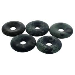 Pi Chinois Jaspe Kambaba semi poli 30 mm - Lot de 5 pièces