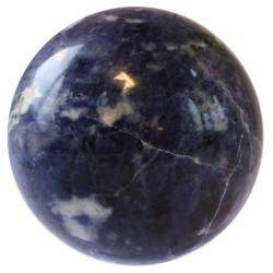 Sphère sodalite 14 à 15 cm
