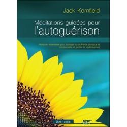 Méditations guidées pour l'autoguérison - Livre audio CD MP3