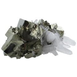 Amas Pyrite et Cristaux - 4 kg