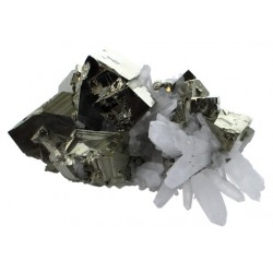 Amas Pyrite et Cristaux - 5,34 kg