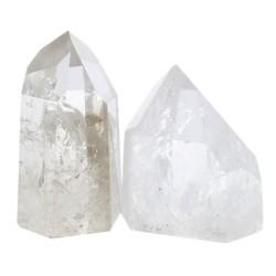 Pointe Polie Cristal de Roche - Qualité A - Lot de 1 kg