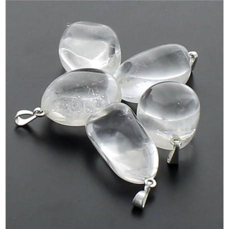 Sachet Pendentifs - Cristal roche - Lot 10