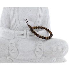 Bracelet mala tibétain - Œil de tigre - Lot de 5
