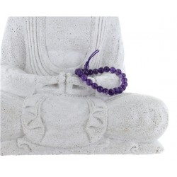 Bracelet mala tibétain - Améthyste - Lot de 5