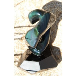 Obsidienne Sculpture - AN0715 2
