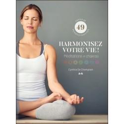 Harmonisez votre vie ! Méditations et chakras - Coffret