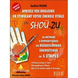 La Méthode d'aprentissage du rééquilibrage énergétique en 5 étapes - Apaisez vos douleurs en stimulant votre énergie vitale en S