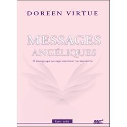 Messages angéliques - 10 messages que vos anges aimeraient vous transmettre - Livre audio CD MP3