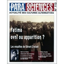 Parasciences n°113 - Fatima ovni ou apparition ?