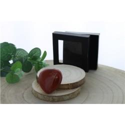 Coeur Jaspe Rouge - 4.5 cm