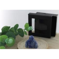 Bouddha Aventurine Bleue 4 cm