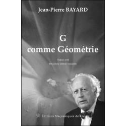 G comme géométrie - Tome 1 et 2