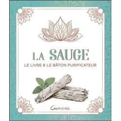 La Sauge - Le livre & le bâton purificateur - Coffret
