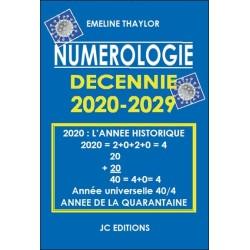 Numérologie Décennie 2020-2029 - 2020 l'année historique : année de la quarantaine