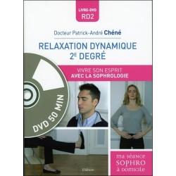 Relaxation dynamique 2e degré - Vivre son esprit avec la sophrologie - Livre + DVD