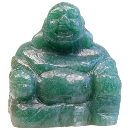 Bouddha Rieur Assis 4 cm - Aventurine