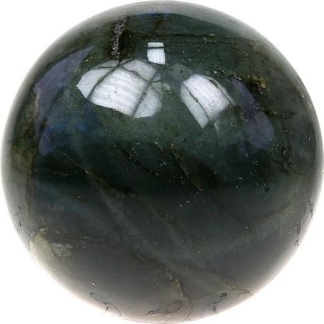 Sphère Labradorite Madagascar - 4 cm