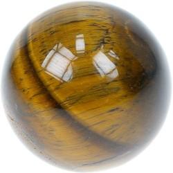 Sphère oeil de Tigre 40 mm - La pièce